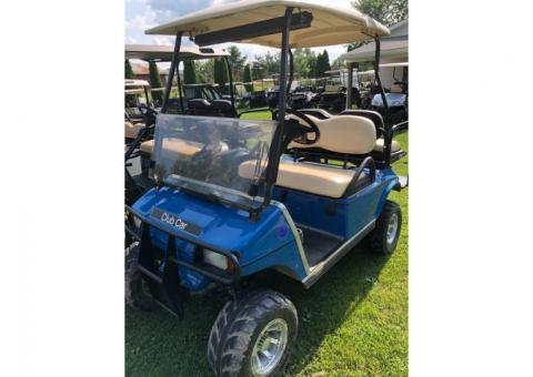 2003 gas lifted golf cart