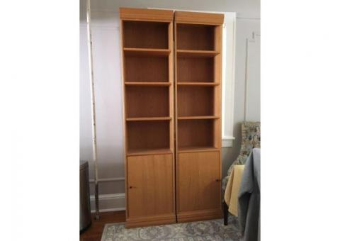 Pair of Bookcases/cabinet