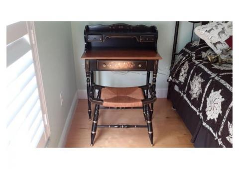 Ethan Allen desk and stool